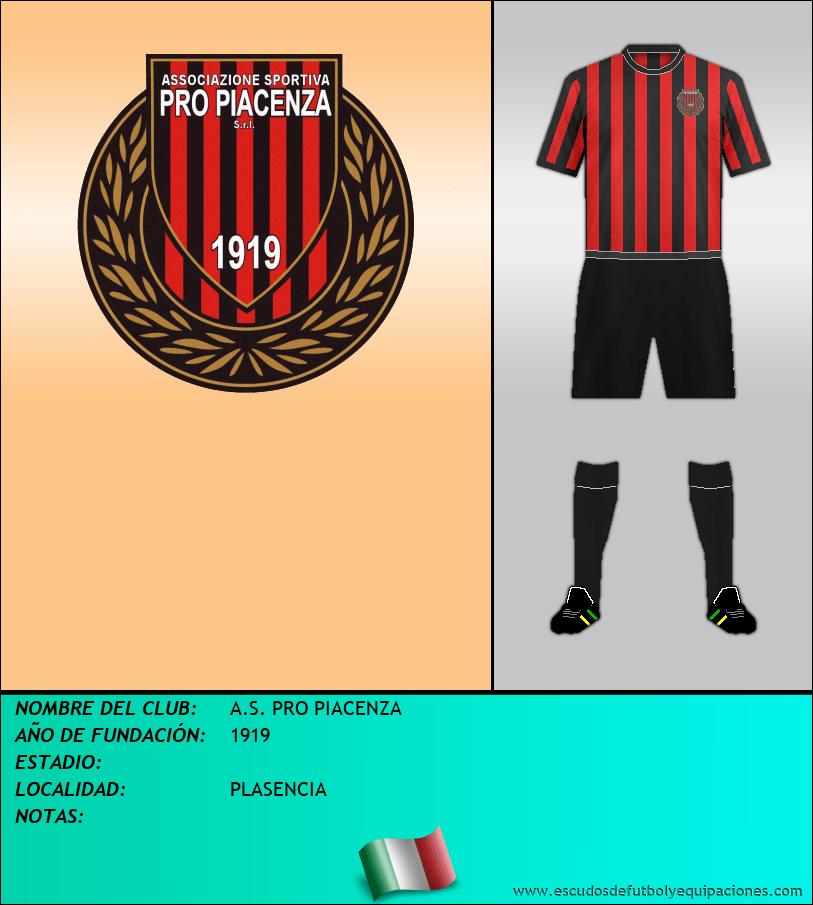 Escudo de A.S. PRO PIACENZA