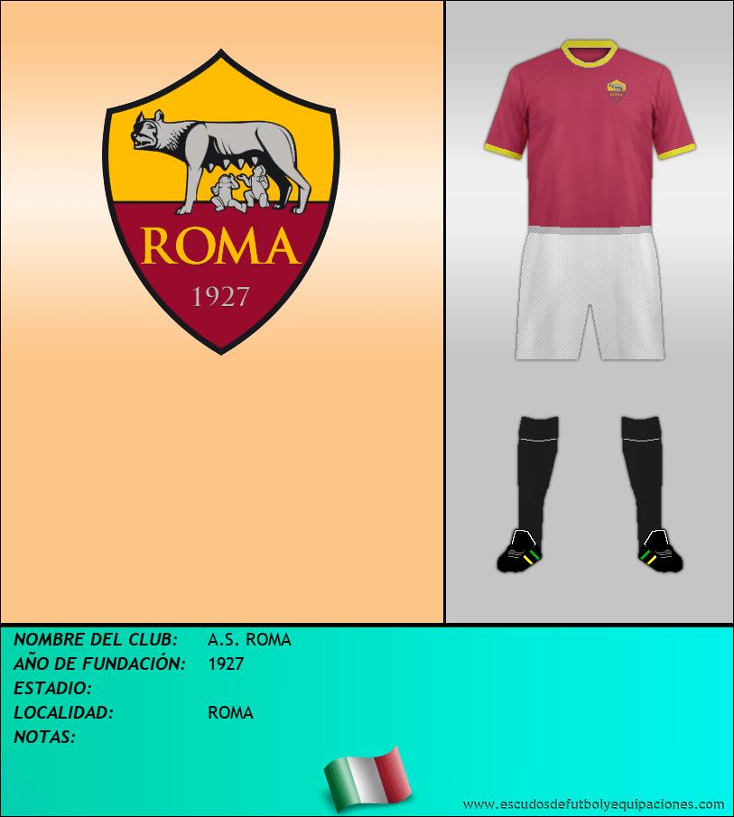 Escudo de A.S. ROMA