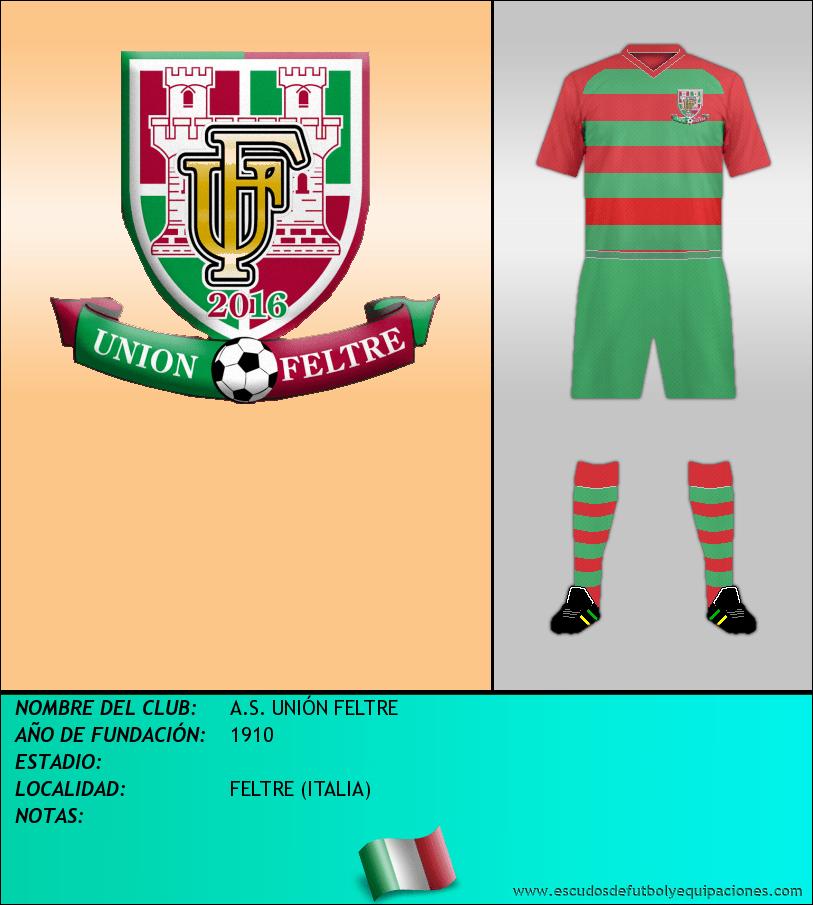 Escudo de A.S. UNIÓN FELTRE