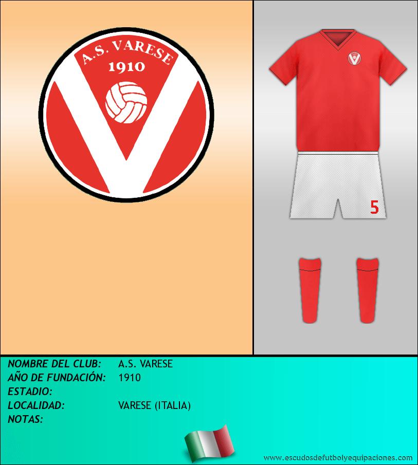 Escudo de A.S. VARESE