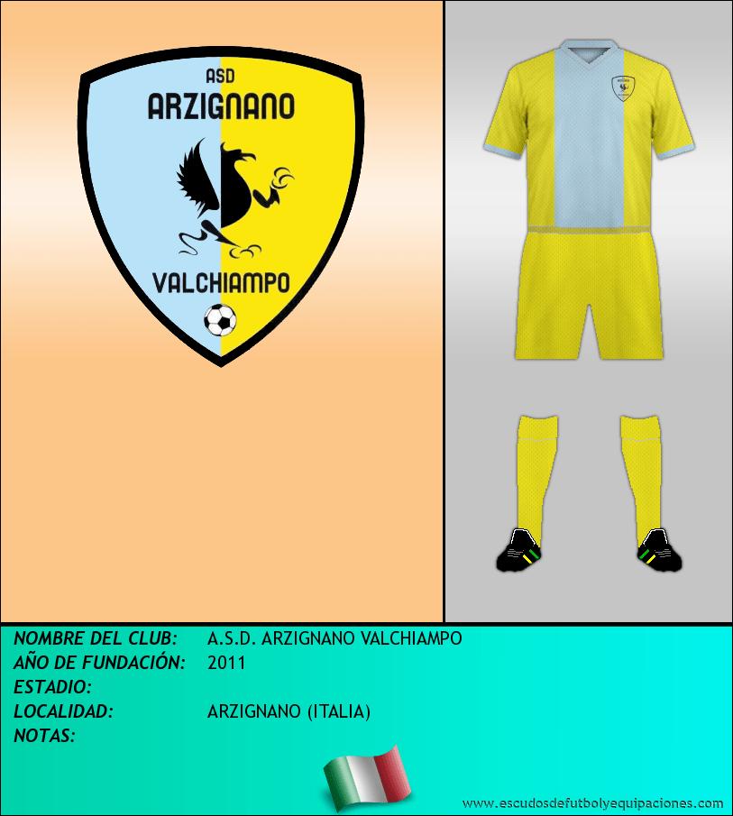 Escudo de A.S.D. ARZIGNANO VALCHIAMPO
