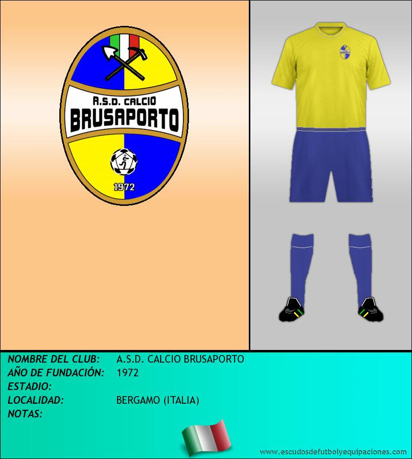 Escudo de A.S.D. CALCIO BRUSAPORTO