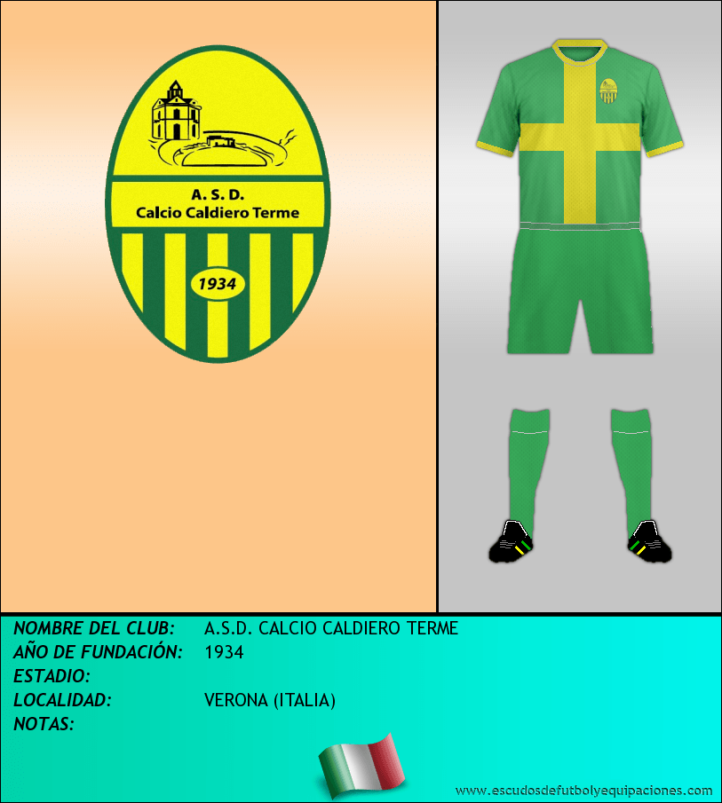 Escudo de A.S.D. CALCIO CALDIERO TERME