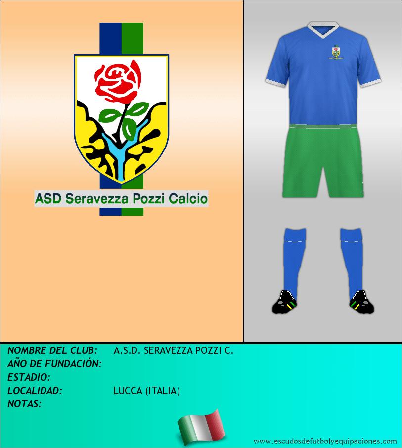 Escudo de A.S.D. SERAVEZZA POZZI C.