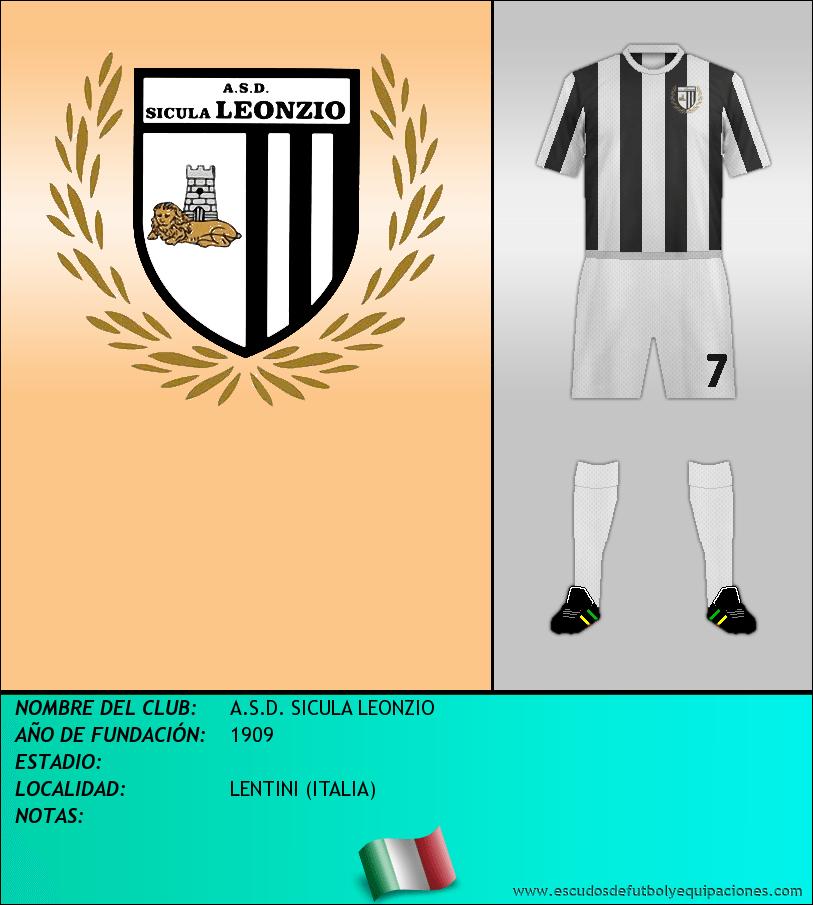 Escudo de A.S.D. SICULA LEONZIO