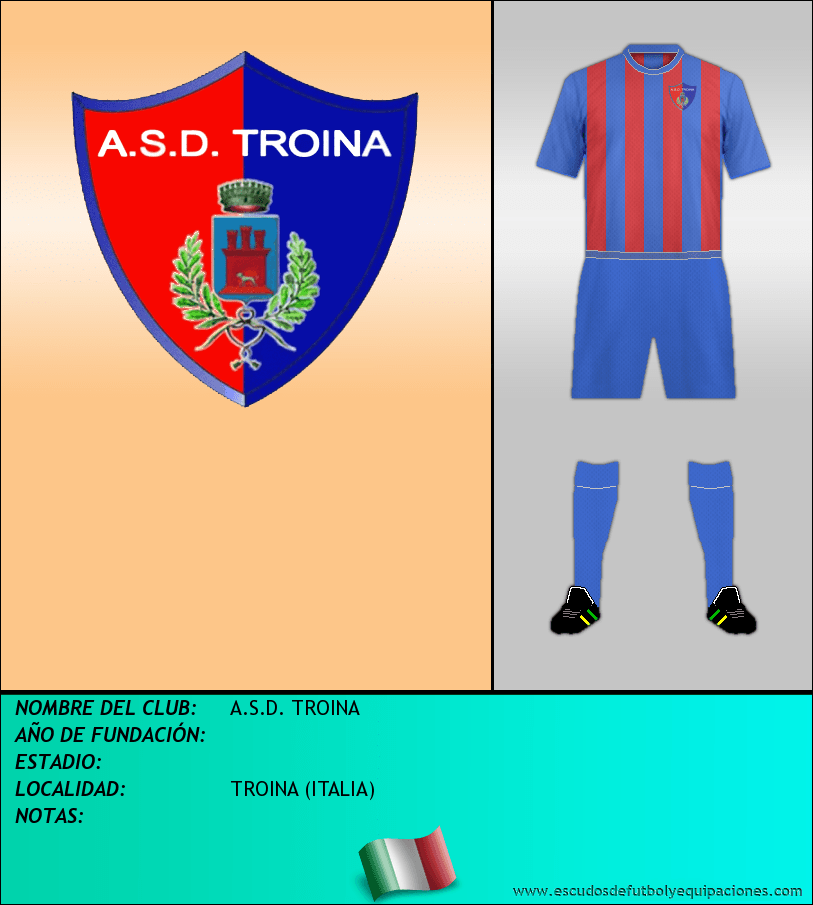 Escudo de A.S.D. TROINA