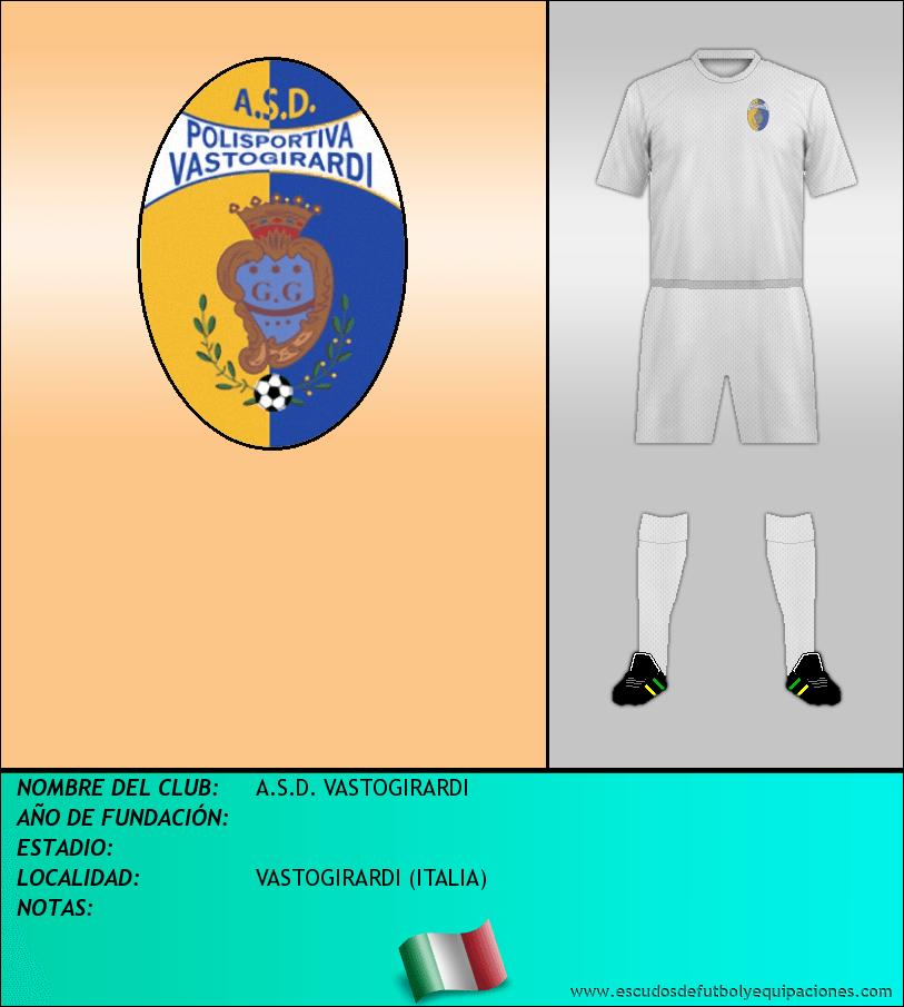Escudo de A.S.D. VASTOGIRARDI