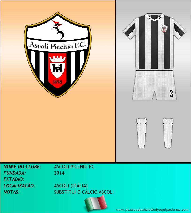 Escudo de ASCOLI PICCHIO FC