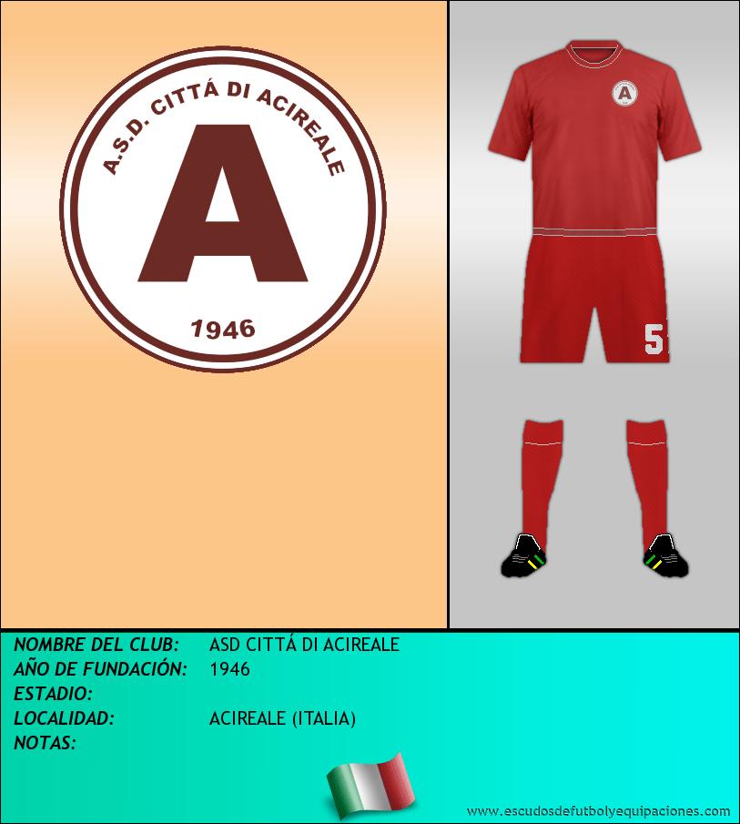 Escudo de ASD CITTÁ DI ACIREALE