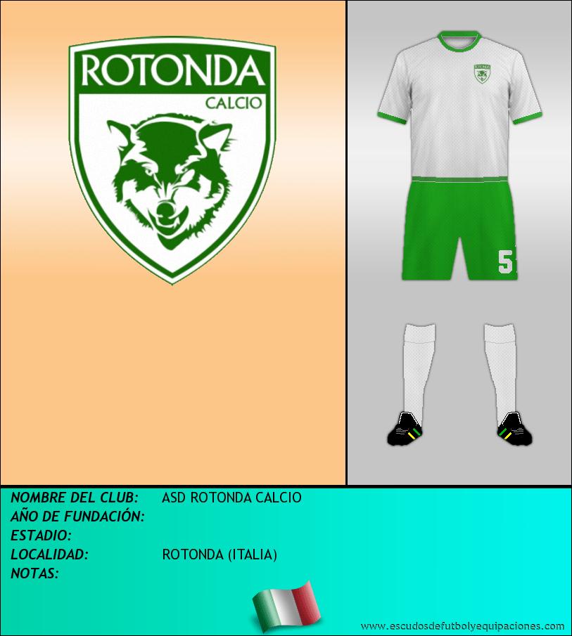 Escudo de ASD ROTONDA CALCIO