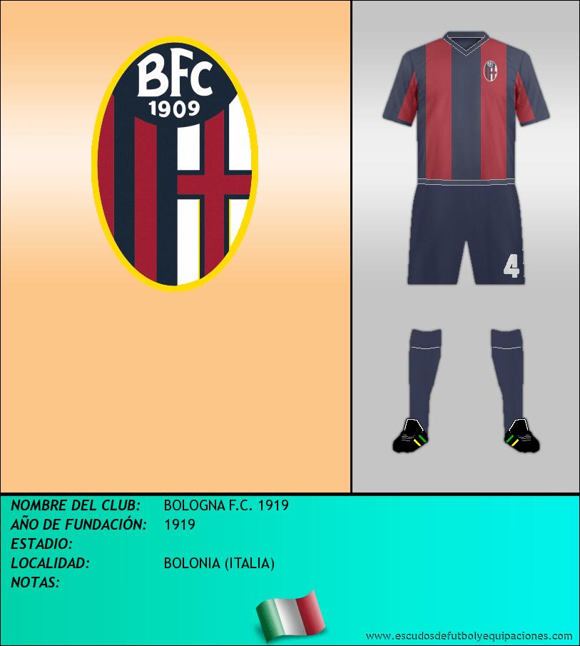 Escudo de BOLOGNA F.C. 1919