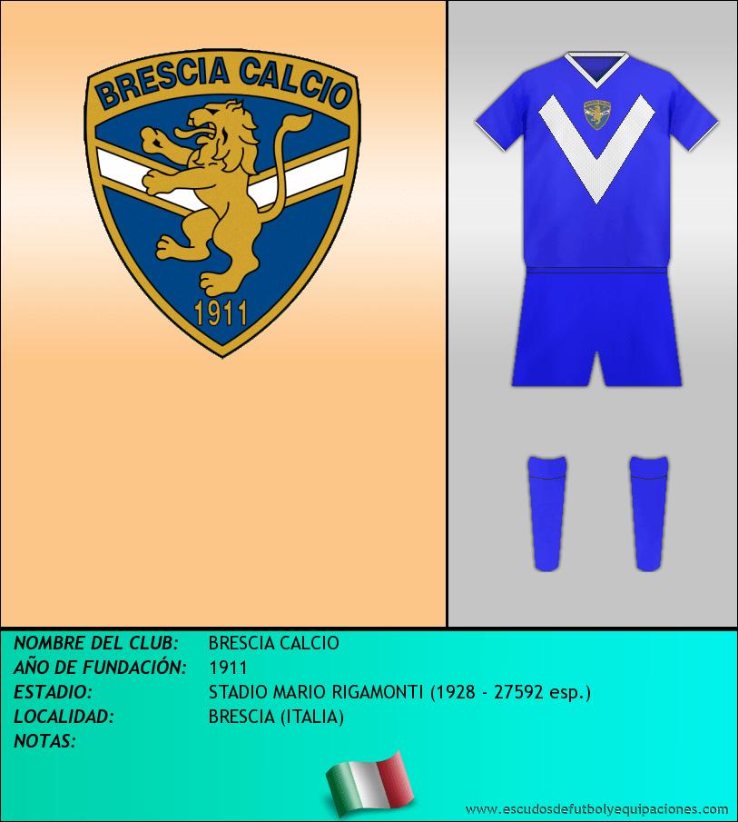 Escudo de BRESCIA CALCIO