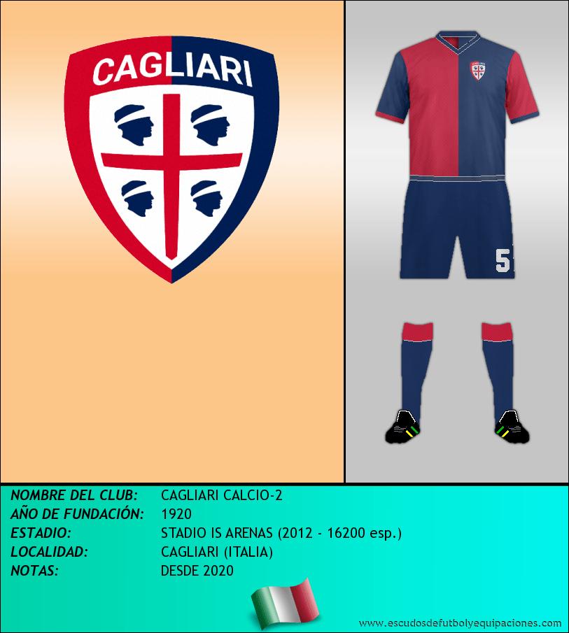 Escudo de CAGLIARI CALCIO-2