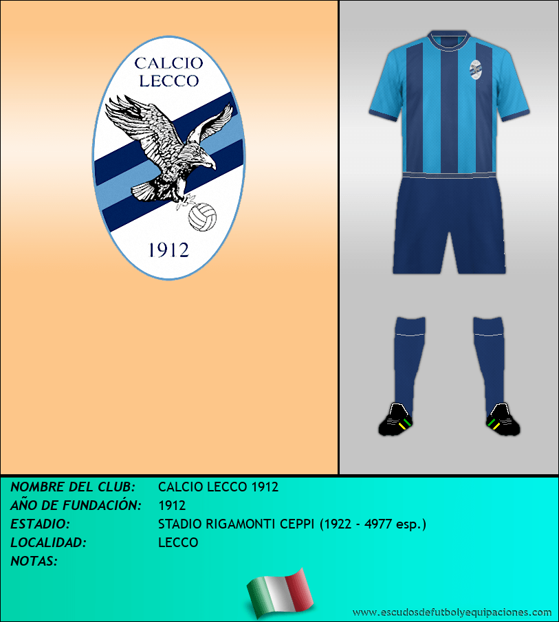 Escudo de CALCIO LECCO 1912