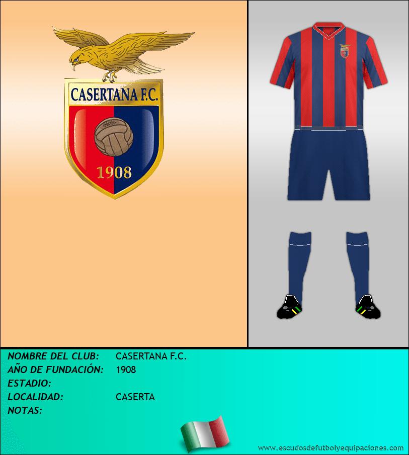 Escudo de CASERTANA F.C.