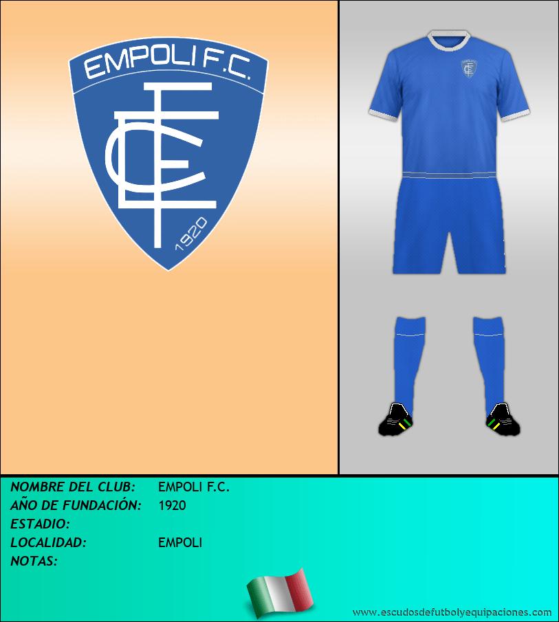 Escudo de EMPOLI F.C.