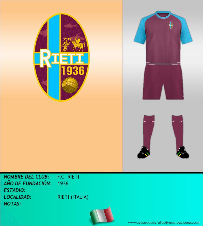 Escudo de F.C. RIETI