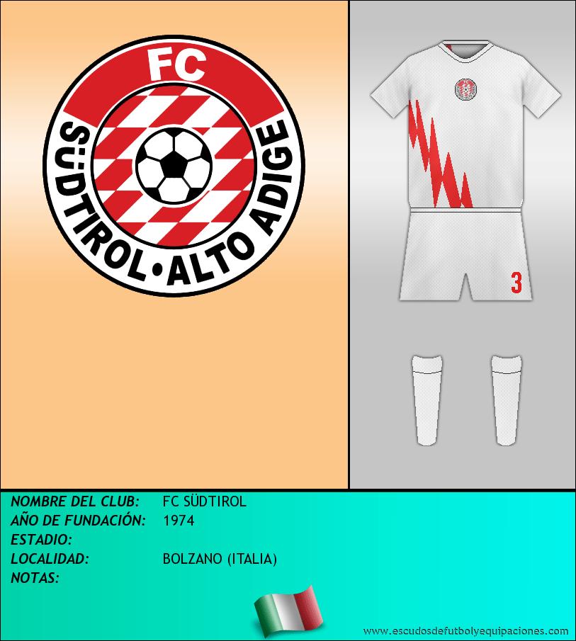 Escudo de FC SÜDTIROL