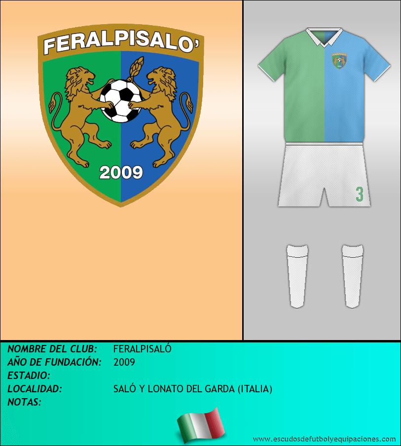 Escudo de FERALPISALÓ