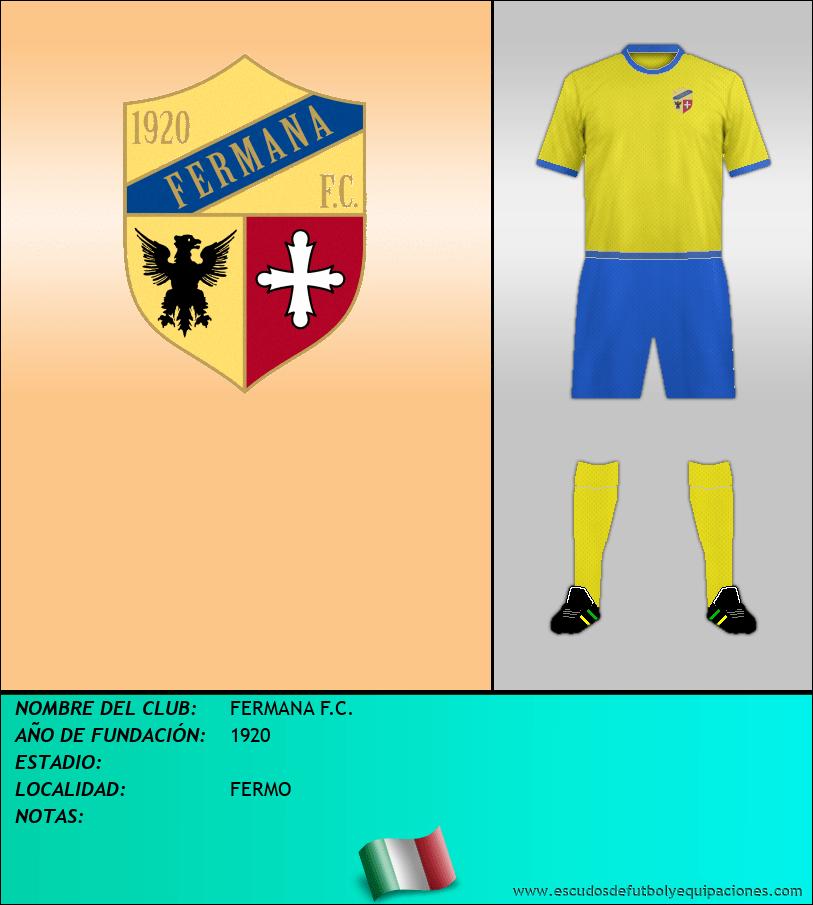 Escudo de FERMANA F.C.