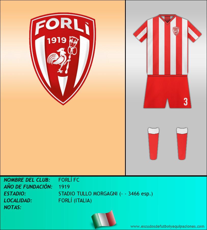 Escudo de FORLÍ FC