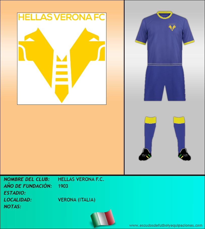 Escudo de HELLAS VERONA F.C.