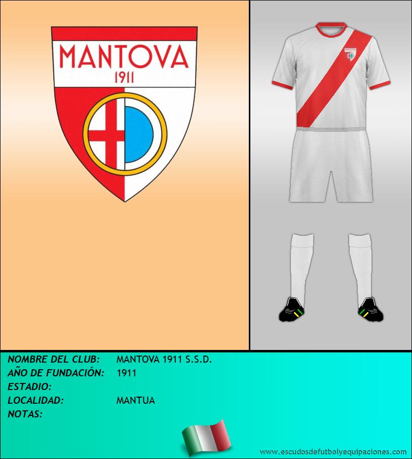Escudo de MANTOVA 1911 S.S.D.