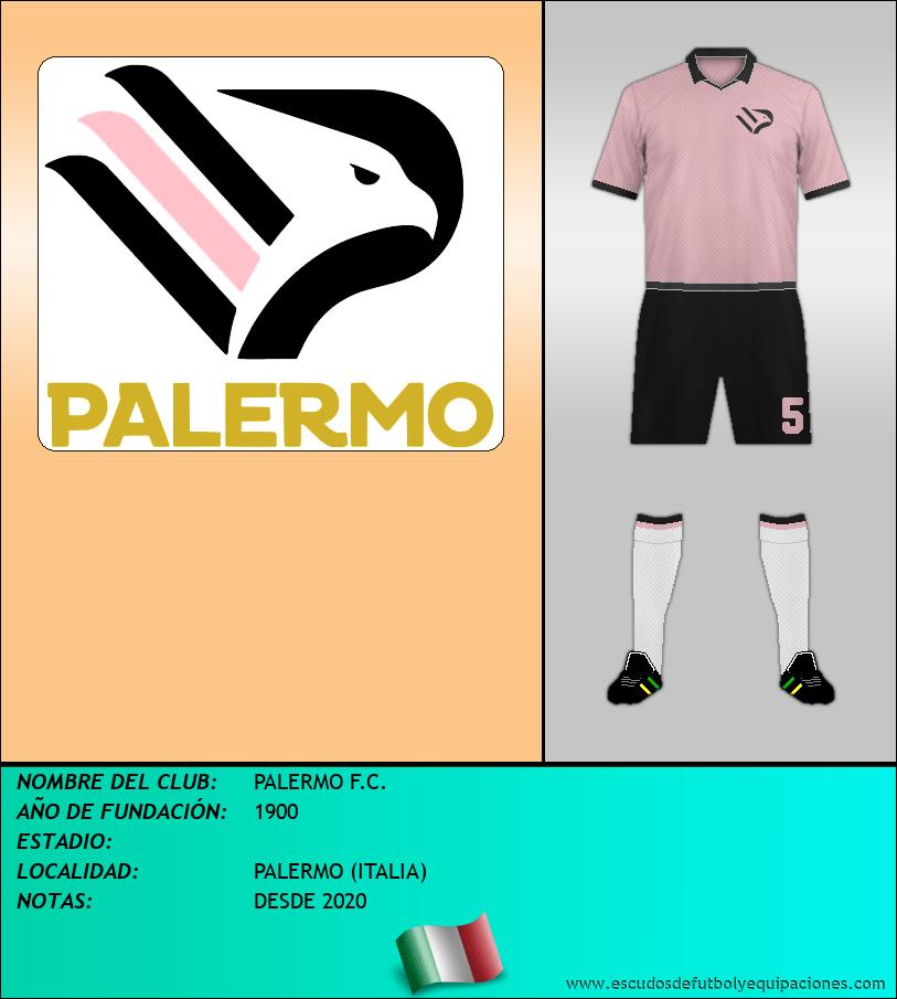 Escudo de PALERMO F.C.