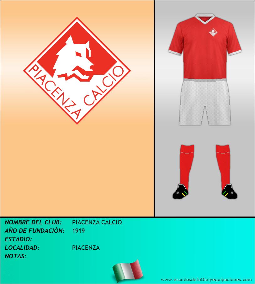 Escudo de PIACENZA CALCIO