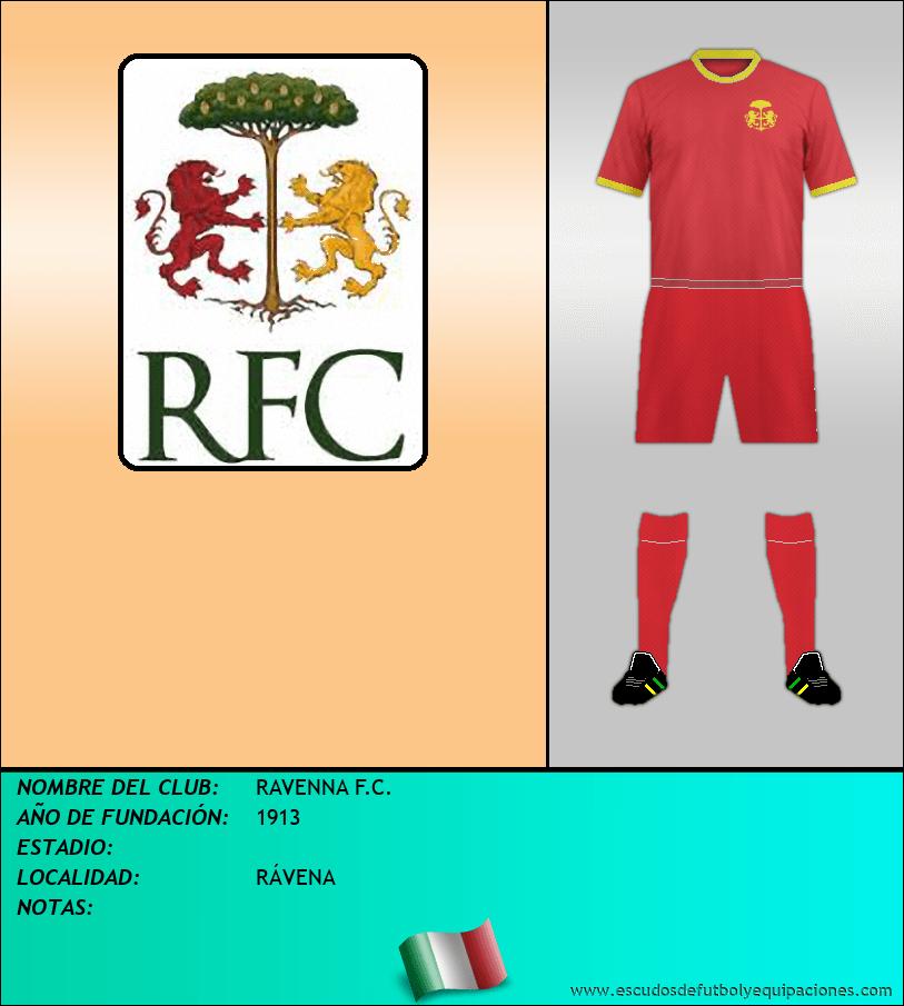 Escudo de RAVENNA F.C.