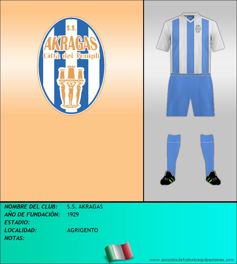 Escudo de S.S. AKRAGAS