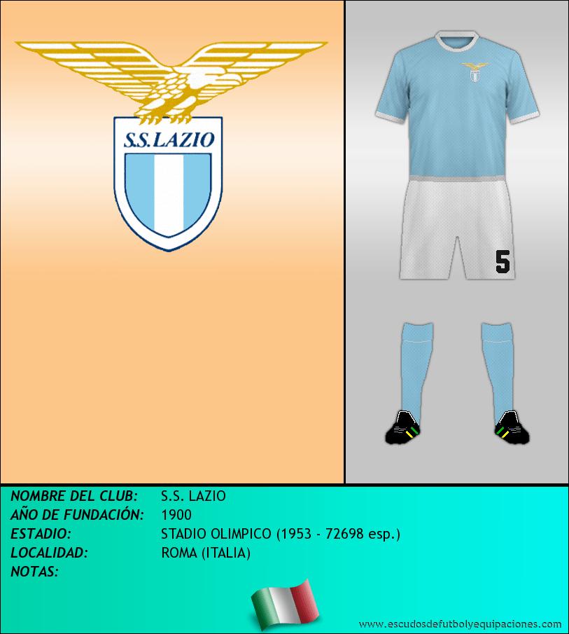 Escudo de S.S. LAZIO