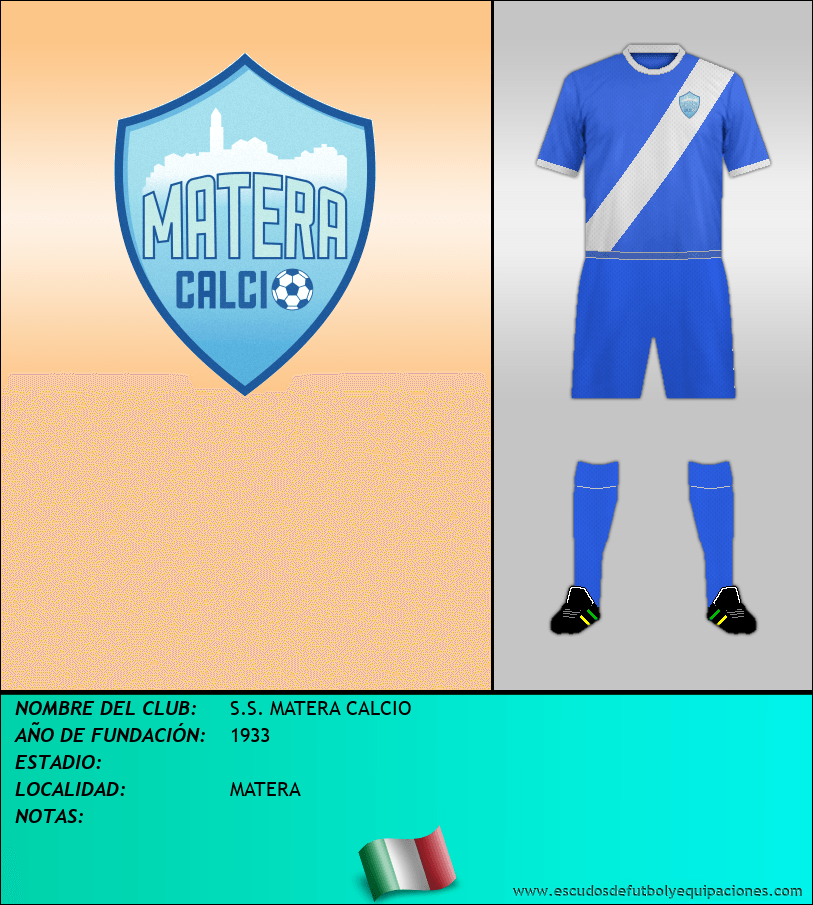 Escudo de S.S. MATERA CALCIO