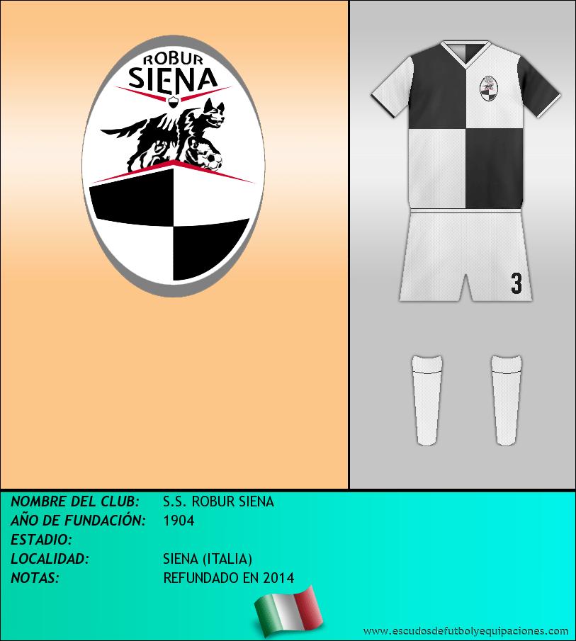 Escudo de S.S. ROBUR SIENA