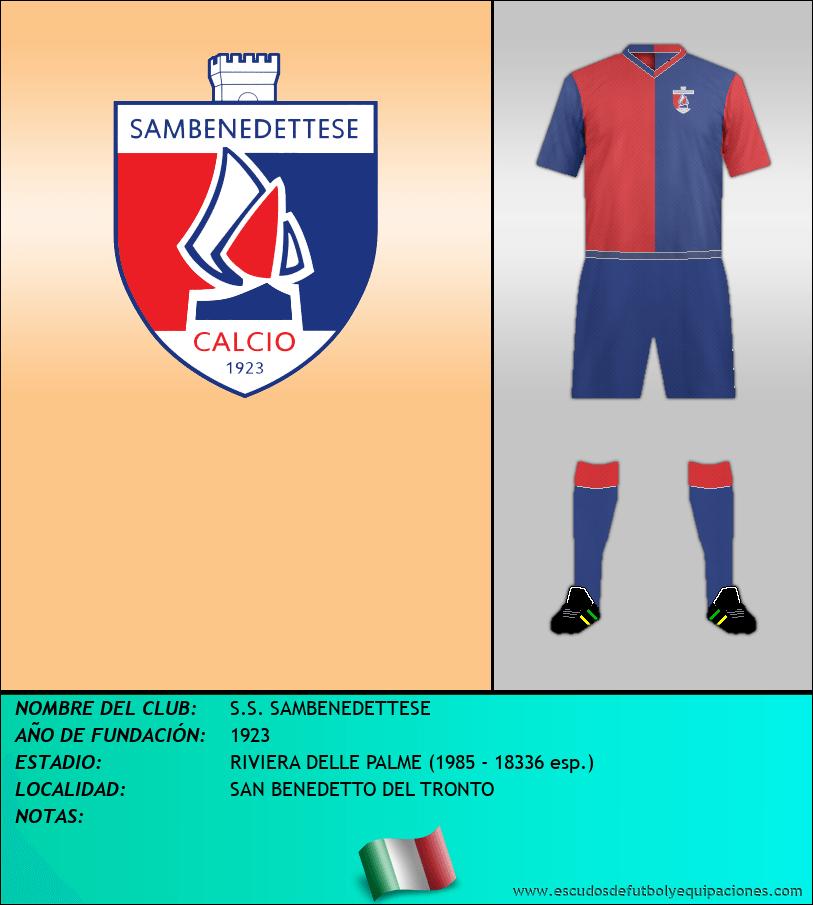 Escudo de S.S. SAMBENEDETTESE