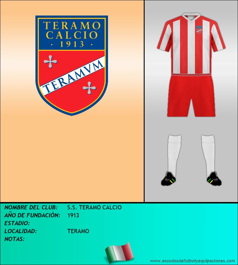 Escudo de S.S. TERAMO CALCIO