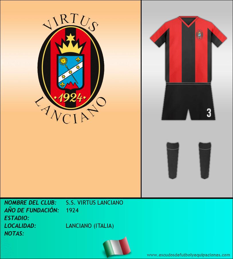 Escudo de S.S. VIRTUS LANCIANO