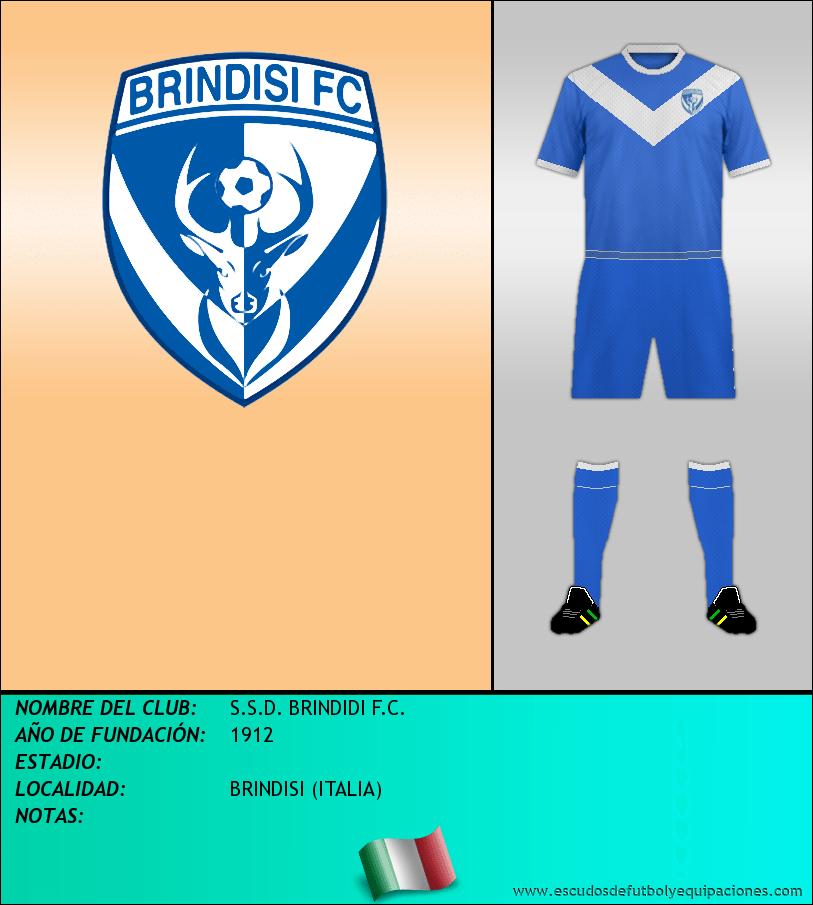 Escudo de S.S.D. BRINDIDI F.C.