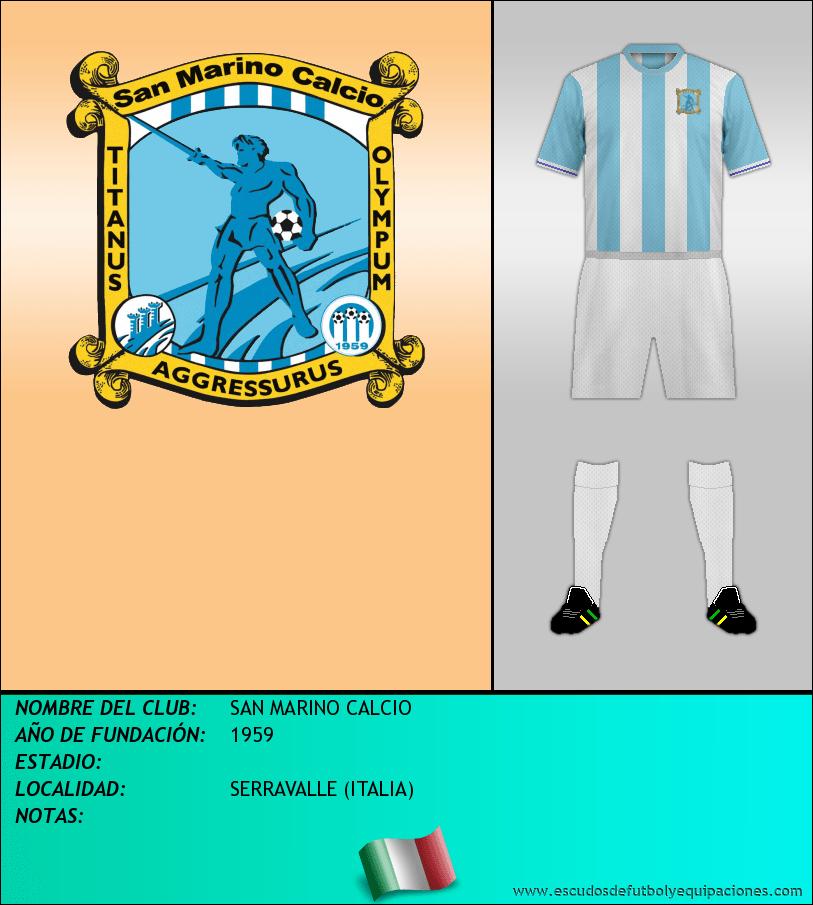Escudo de SAN MARINO CALCIO