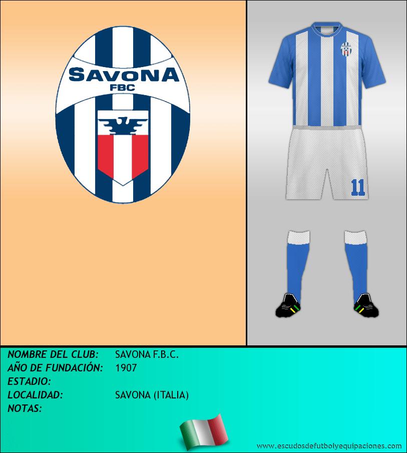 Escudo de SAVONA F.B.C.