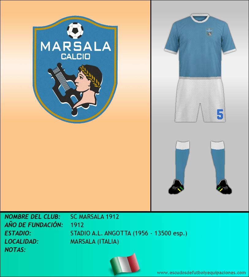Escudo de SC MARSALA 1912