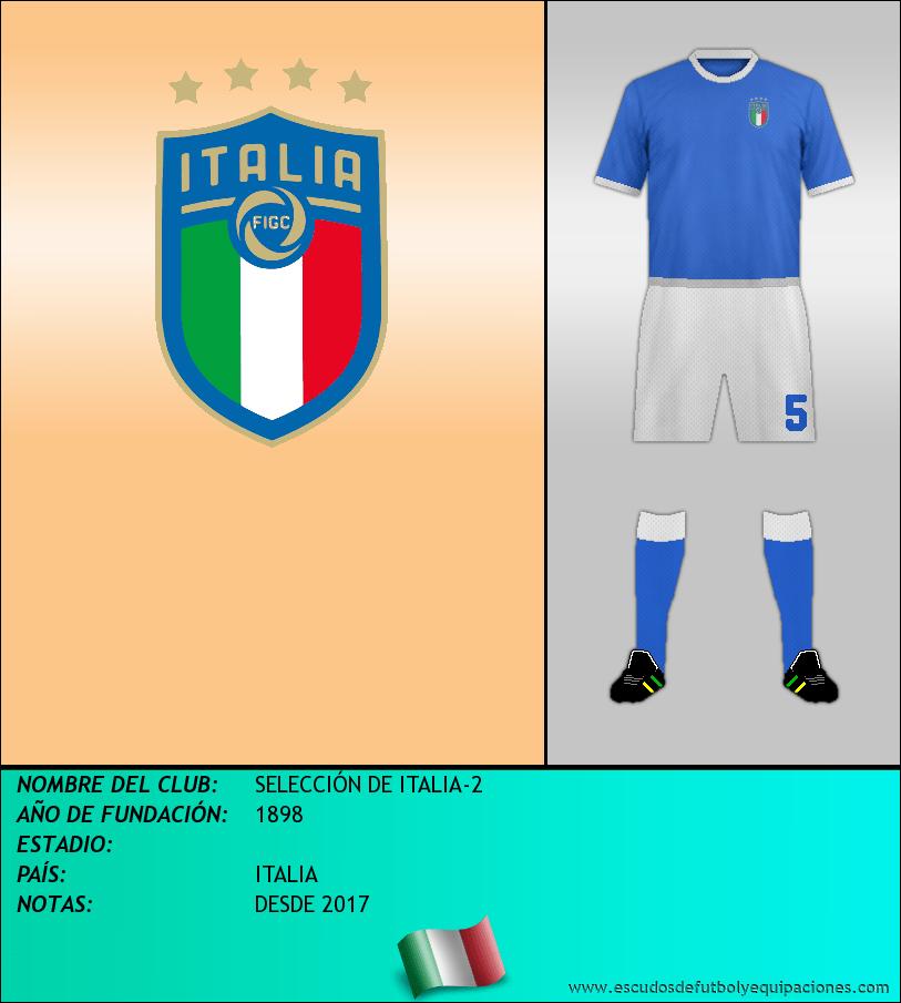 Escudo de SELECCIÓN DE ITALIA-2