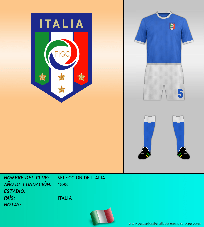 Escudo de SELECCIÓN DE ITALIA