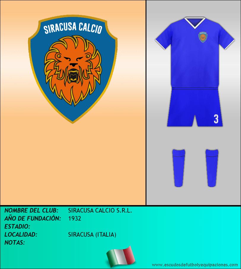 Escudo de SIRACUSA CALCIO S.R.L.