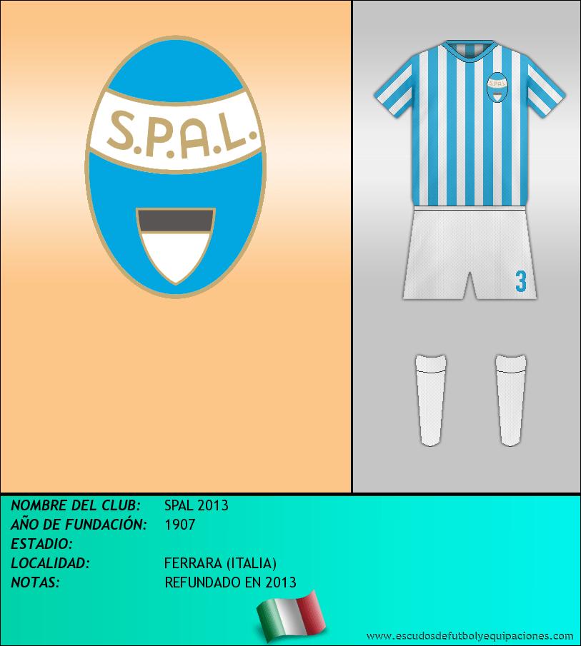 Escudo de SPAL 2013