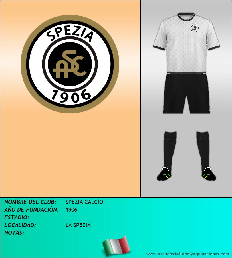 Escudo de SPEZIA CALCIO