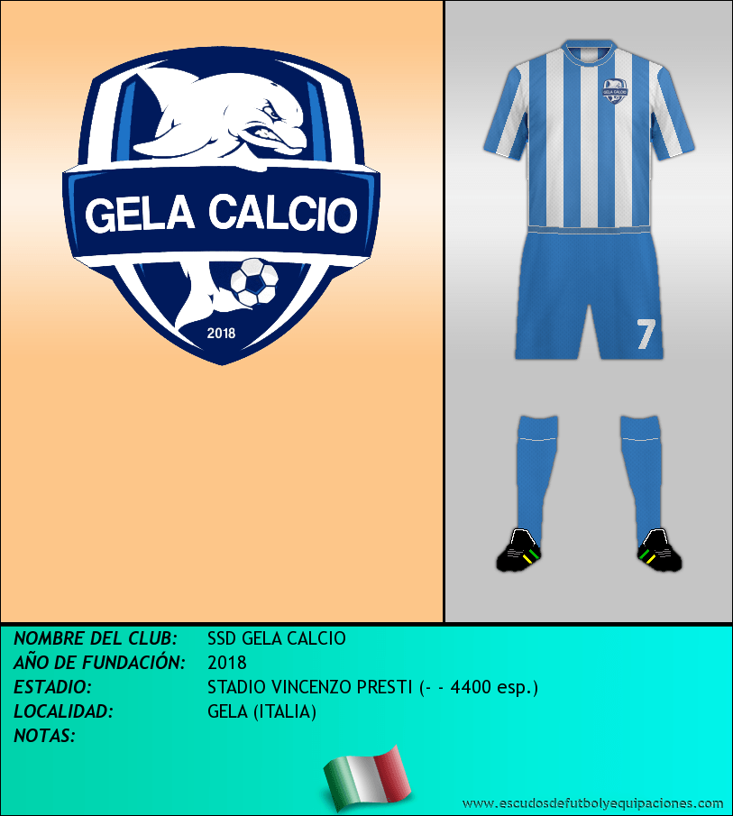 Escudo de SSD GELA CALCIO