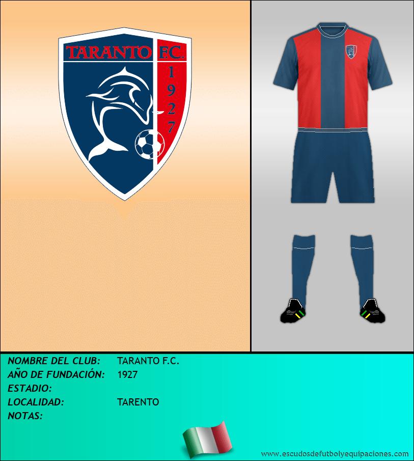 Escudo de TARANTO F.C.