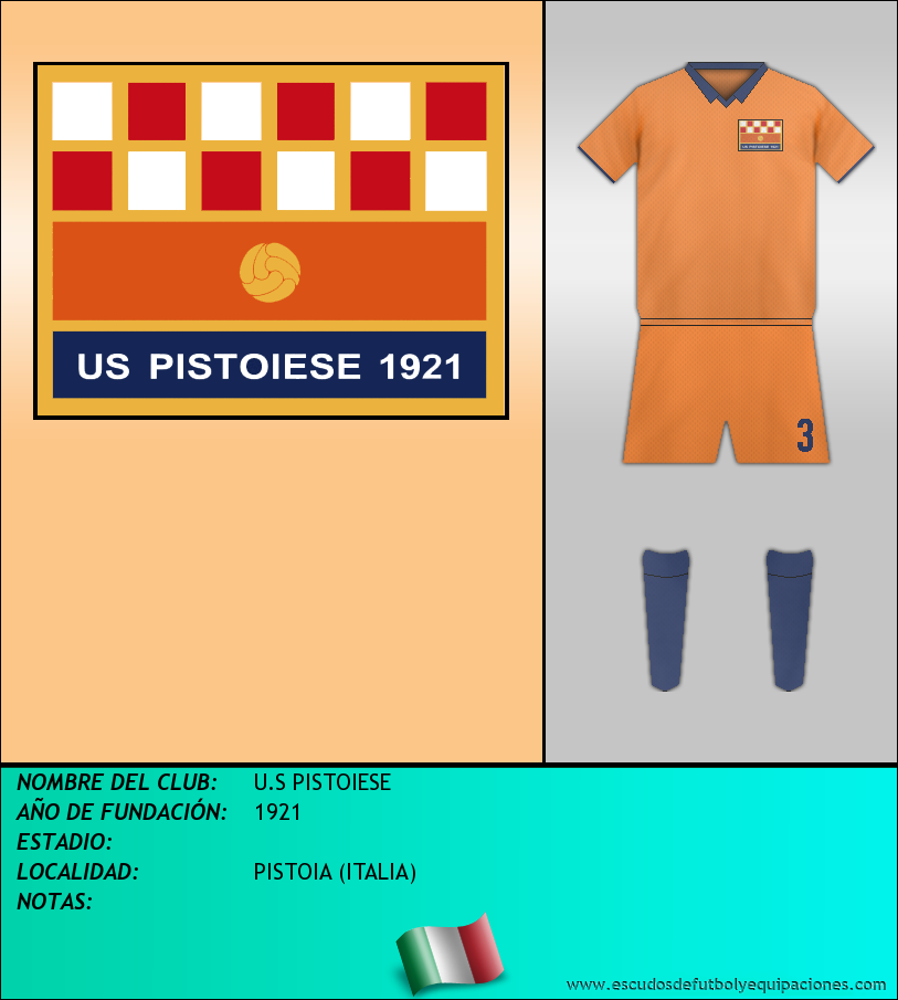 Escudo de U.S PISTOIESE