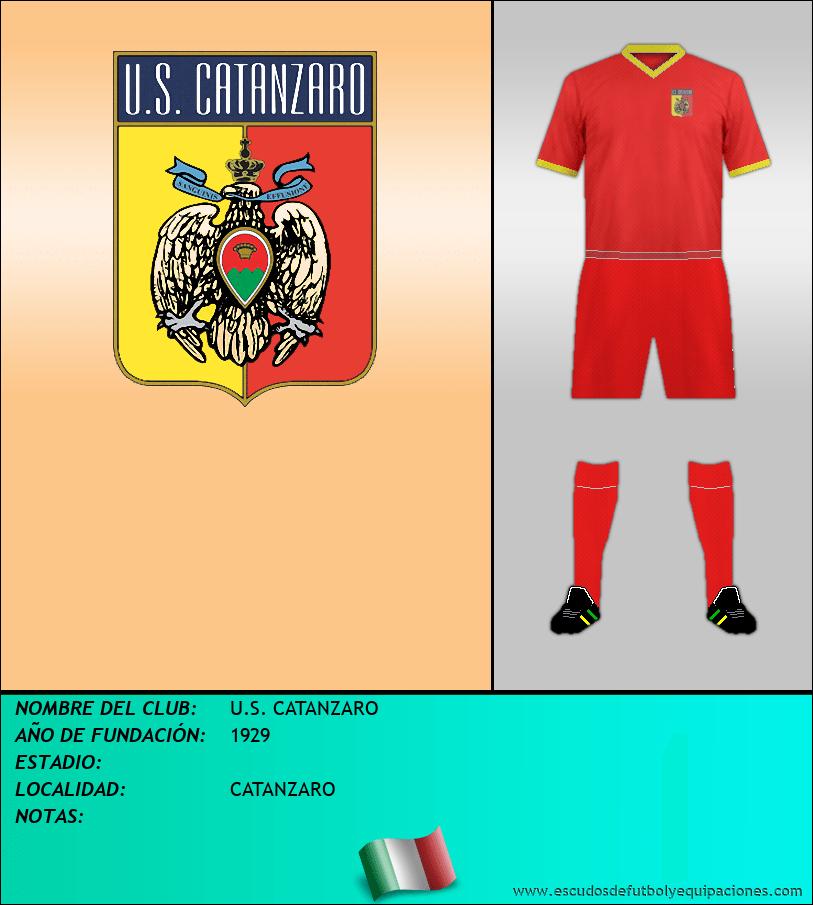 Escudo de U.S. CATANZARO